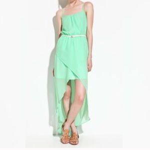 Zara Hi Lo Mint Sundress